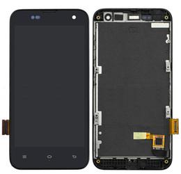 2019 monitor vetro touch screen All'ingrosso- Per Xiaomi 2 2S M2 M2s Mi2 Mi2s Full Touch Screen Panel Sensor Digitizer Vetro + Display LCD Monitor Screen Assembly con telaio monitor vetro touch screen economici