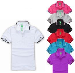 Wholesale Organic Cotton Jersey - S-3XL Brand New men's polo shirt men lapel short sleeve T-shirt cotton shirt jerseys bos-s polo shirts