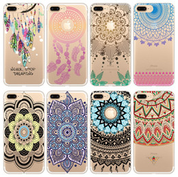 Wholesale Colourful Paintings - 10pcs lot Sofe TPU Cell Phone Case Cover Colourful Painted Creative Phone Shell For Apple Iphone6S Plus 7 8 PLUS Iphone X