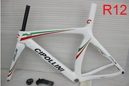 Wholesale Carbon Bike Frame Chinese - AWST 100% Cipollini NK1K carbon frame racing bike chinese 45-58cm carbon road frame T1000 3k with BB68 BB30 carbon bicycle frameset in stock