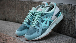 Wholesale Box V - RONNIE FIEG x ASICS GEL LYTE V SAGE Outdoor Running Shoes Mens And Womens Lightweight Breathable Athletic Sneakers EUR36-45 Free Shipping