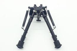 "Wholesale Picatinny Mount Bipod - 6"" to 9"" Compact Spring Return Sniper Hunting Rifle Bipod + Picatinny Rail Mount"