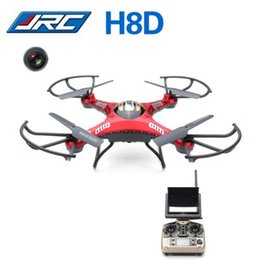Wholesale One Camera Monitors - JJRC Drones 2.4Ghz 5.8G FPV RC Quadcopter Drone with 2MP Camera FPV Monitor Display RTF RC helicopter Headless Mode One Key Return +B