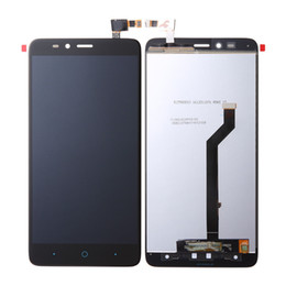 Wholesale Replacement Touch Screen Panel Zte - New Arrival For ZTE Max Duo Z963 Z963VL Z962BL Touch Screen Digitizer With Display Assembly 6.0inch Black Cellphone Screen Replacement