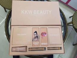 Wholesale Makeup Brush Gift Set - Kylie kkw beauty box set limited edition makeup brushes lipstick eyeshadow eyeliner kylie jenner new Christmas gift free shipping