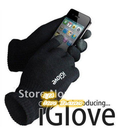Wholesale Touch Screen Glove Cotton - FG1605 Guantes Tactil IGlove Screen touch gloves man women gloves without retail box Unisex Winter luvas for Iphone phone touch gloves