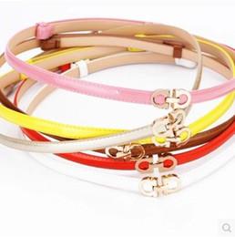 Wholesale Yellow Fabric Belt - Trumpet femininos 2016 Free shipping female cross belt male   female retro fitting 8 shaped loose casual belt