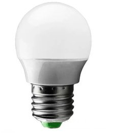 Wholesale Green Led Bulb E14 - Led globe bulb lamp Plastic Bulb 3w SMD free shipping led lamps newest led material LLFA