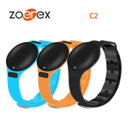 Wholesale Tracker Day - 20pcs Hot selling C2 smart bracelet Bluetooth waterproof message to remind the long standby work 90 days