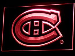 b091 Montreal Canadiens LED Neon Sign Bar Beer Decor Envío gratis Dropshipping Wholesale 7 colores para elegir desde fabricantes
