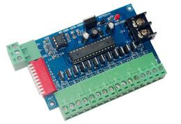 Décodeur de canal dmx en Ligne-12ch contrôleur DMX512 12 canaux 4 groupes décodeur dmx de sortie RVB
