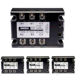 2019 pontos de áudio Relé de estado sólido AC trifásico Electromatic 480V / 40A GJX-3 B00361 BARD