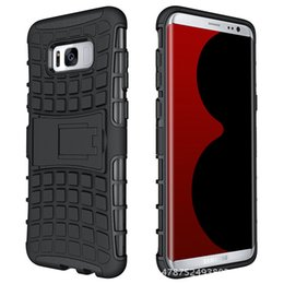 Wholesale Pink Tyre - Fashion tyre line antiskid cell phone case shockproof Anti-knock back cover for samsung S8 S8 Plus