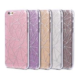 Wholesale Polka Dot Hybrid Case - For iPhone 7 6 6S Plus 5 5S SE Luxury Hybrid Shiny Bling Glitter Case Diamond Star Polka Dot Heart Love Clear Soft TPU Back Case