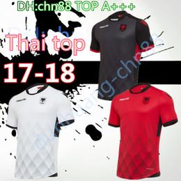 Wholesale Best New Homes - new! 2017 Albania soccer jerseys best thai quality 17 18 Hamdi Salisi Jahimir Shiga soccer uniform football jerseys Home Away third shirts