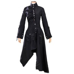 Abitudine uniforme costume online-Harry Potter Ninfadora Tonks Costume Cosplay Witches Uniform Dress Costume di Halloween per le donne Custom made