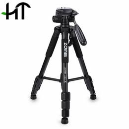 Zomei Q111 Trípode profesional Accesorios para cámaras Fotografía Portátil de aluminio Trípode con bolsa para cámara réflex digital réflex digital desde fabricantes