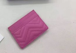 Wholesale Women Credit Card Holders - Free shipping !famous Classic Short Card ID Holder women wallet genuine leather lambskin short wallets 443127