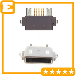 Wholesale Lt29i Xperia - For Sony Xperia Z L36h LT29i C6603 LT36 LT25C C6602 Mirco USB Charger Charging Connector Dock Port Plug 10 PCS Lot Free Shipping