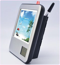 Livraison gratuite whilesale Cadre photo couleur avec calendrier stylo électronique pliant stylo logement bureau cadeaux ? partir de fabricateur