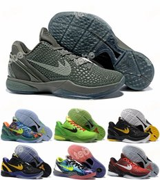 Wholesale Gold Classic Weave - 2016 New Kobe 6 Classic Limited Edition Retired What Road Master Weaving Fly 11 Mens Basketball Shoes Top Quality Training Sports Sneakers