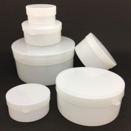 Wholesale cosmetic 5g jars - Plastic Cosmetic Jar 5g 10g 20g 30g 50g Cream Empty Bottle Cream Containers Jars Aluminum Box Small Containers