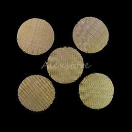 Tabacco per pipa per tabacco Filtri in metallo Ottone in acciaio inox 20mm Ciotola in rete per fumare tabacco da pipa da mesh di schermatura fornitori