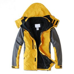 Wholesale Waterproof Mens Parka - Fall-2015 New Arrival Outdoor Winter Sports Jacket Men Liner Detachable Coat Parka With Hood Waterproof Mens Jackets Jaqueta AQ40019