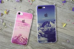 Wholesale Eiffel Tower Wine - For Apple iphone 7 plus 6S plus silicone coloured drawing case landscape Plating TPU cell phone cases Elizabeth Tower Big Ben Eiffel shell