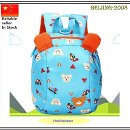 Wholesale Baby Kid Keeper Safety - Baby safety harness kids keeper Cartoon Backpacks Children Strap Bag,Anti-lost Walking Wings Kids' backpack 010259