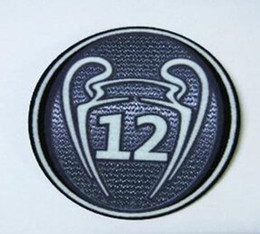 Wholesale Wholesale Real Madrid - Football Patch Soccer The Champions League Patch Badges Real Madrid Football Shirt Patches