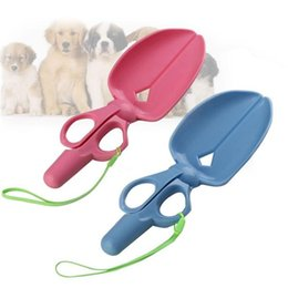 Wholesale Pick Products - Pet Dog Puppy Cat Waste Poop Poo Pick Up Scissor Poo Scoopper Clamp Shovel Clean Tool Pet Dog Pooper Scoopers Tool H210609