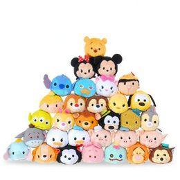 Wholesale Widget Toy - Mini Toys Little Mermaid Mini Toy Doll Daisy Stitch Screen Wipe Lie Prone To Lie Prone To Hang Widgets Cartoon Plush Dolls