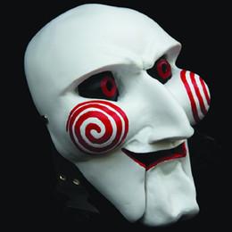 Mascarillas de dibujos animados online-Novedad Película Vi Dibujos animados Máscara de resina de terror Mascarada Cosplay Fiesta de Halloween Máscaras faciales