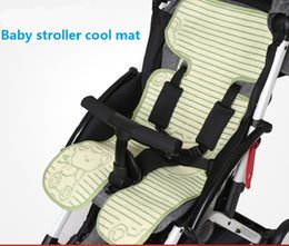 Wholesale Kids Sleeping Mats Wholesale - Wholesale- Summer Baby Push Cart Cool Cushion Infant Stroller Linum Cool Mat Kids By Bear Bamboo Charcoal Breathable Cool Sleeping Pad