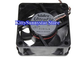 Wholesale 12v computer fans - NIDEC 6025 U60T12MUB7-52 12V 0.16A 3Wire Cooling Fan