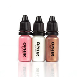 Wholesale Spray Systems - OPHIR Aqueous Pearl Eyeshadows for Spray Airbrush Makeup System Kit-0.4oz Bottle Airbrush Face Make-up Eye Shadow