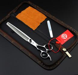 "Wholesale Hand Bones Hair - #650 8"" High Quality Left Hand Silver Pet Grooming Scissors,Professional Cat Dog Fur Clipper Shears Hair Thinning Fish Bone Scissors"