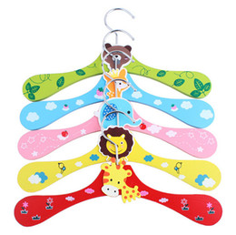 Wholesale Dog Clothes Rack - Animal Patterns Colorful Cartoon hanger dog clothes rack pet clothes hanger wholesale