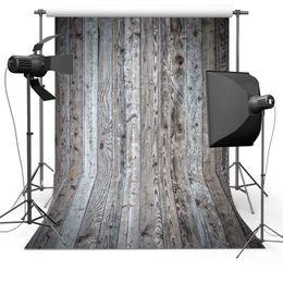 Wholesale Vinyl Wood Backdrop - 8X8ft(240x240cm)Wood Flooring for Newborn Free shipping Vinyl Photography Background Backdrops backgrounds for photo studio Floor716