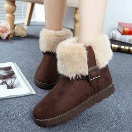 Wholesale Women S Shoes Medium Heels - DORP SHIPPING 2017 HOT SELL new women 's Australia Lady Cowskin leather Bailey Bowknot snow boots winter shoes for women boots boot