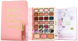 Wholesale High Palette - New brand boss lady beauty agenda Eyeshadow don't let today be a waste of makeup 28 colors Palette high quality Free shipping