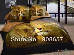 Wholesale Leopard Print Bedding Cheap - new yellow sweet leopard animal print 500TC cotton bedlinen cheap bedding sets duvet covers 4pc for full queen comforter quilt