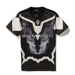 Wholesale Group Shirts - Wholesale-mens t shirts fashion2016 Marcelo Burlon Cooperation models Group Snake Flurry printing Men's fashion short sleeve T-shirt Tee