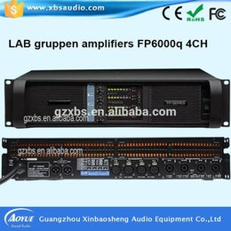 Wholesale Amplifier Guitars - 4 Channels and Home Amplifier Type guitar tube amp Fp6000 High Power Professional Power Amplifier with RoHS CE
