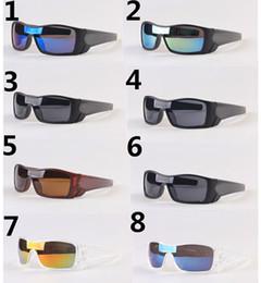 Vente chaude été hommes conduisant des lunettes de soleil lunettes de sport Lunettes femmes loup chauve-souris loup Bicyclette Verre Lunettes de voyage A +++ 8 couleurs bateau libre ? partir de fabricateur