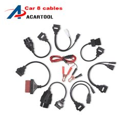 Wholesale peugeot car prices - 2015 Hot sale! TCS Professional car cables for full set 8 cables for multi-brand OBD2 OBDII cars with best price