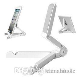Argentina Universal plegable del sostenedor del soporte ajustable para el iPad Mini / Kindle Fire / Samsung Galaxy Tablet PC Soportes libre de DHL Suministro