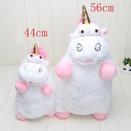 Wholesale Despicable Stuffed - 56cm 40cm Despicable ME Unicorn Plush Toy Soft Stuffed Animal Plush Toys Dolls for girls gifts