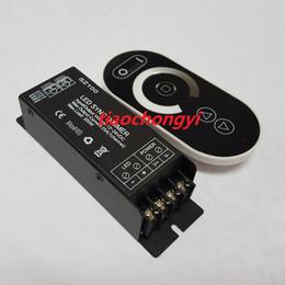 Wholesale Remote Controller 12 Channel - DC12V 24 V led touch controller 25A 300 W dimmable led dimmer 1 channels wireless RF remote controller to control strip LED